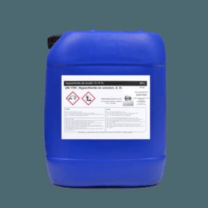 Chlore liquide bidon