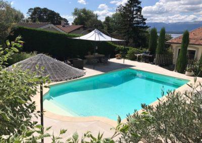 Rénovation terrasse piscine Genève 2