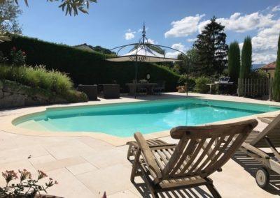 Rénovation terrasse piscine Genève