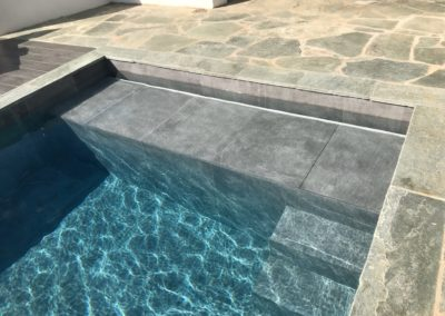 Réalisation piscine pierre Genève