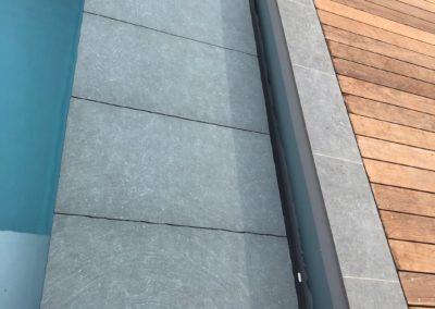 Plage immergée piscine Genève