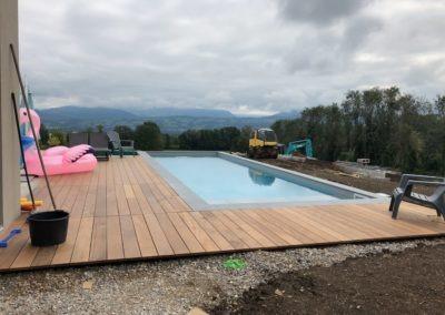 Réalisation piscine Genève