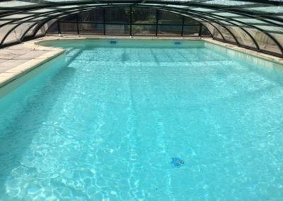 Rénovation piscine avec PVC armé