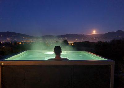 Spa inox terrasse
